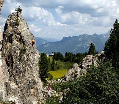 Klettern am Penken