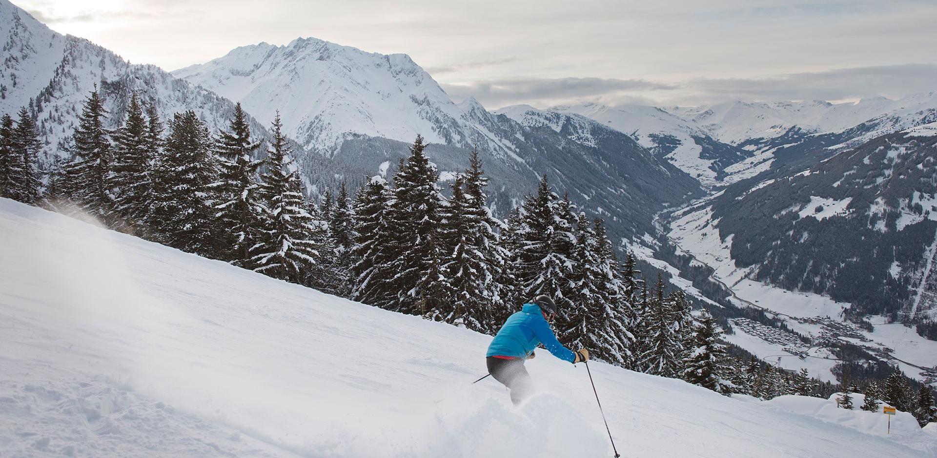 Skifahren am Genießerberg Ahorn