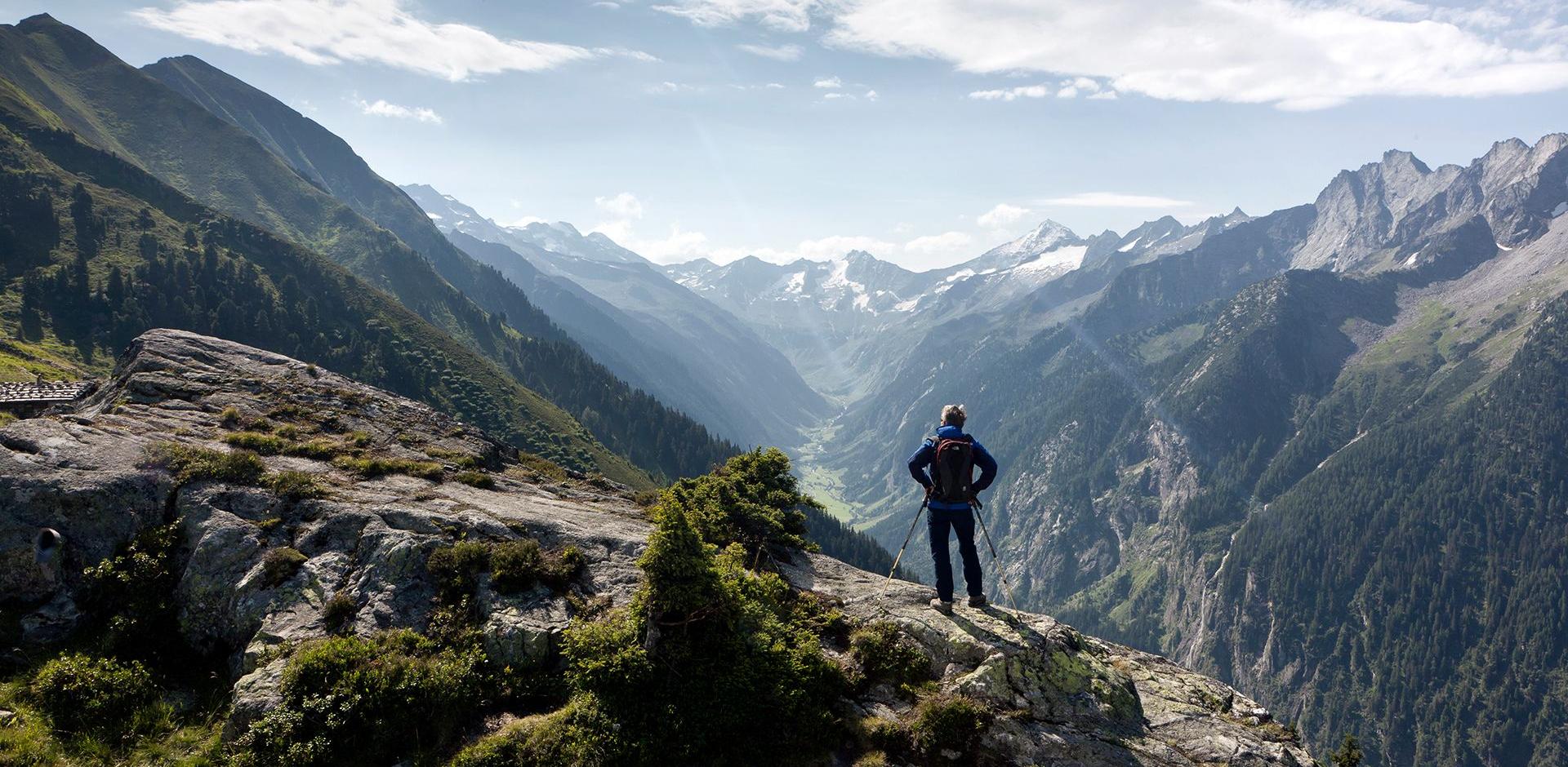 Wanderweg am Ahorn mit Peter Habeler in Mayrhofen