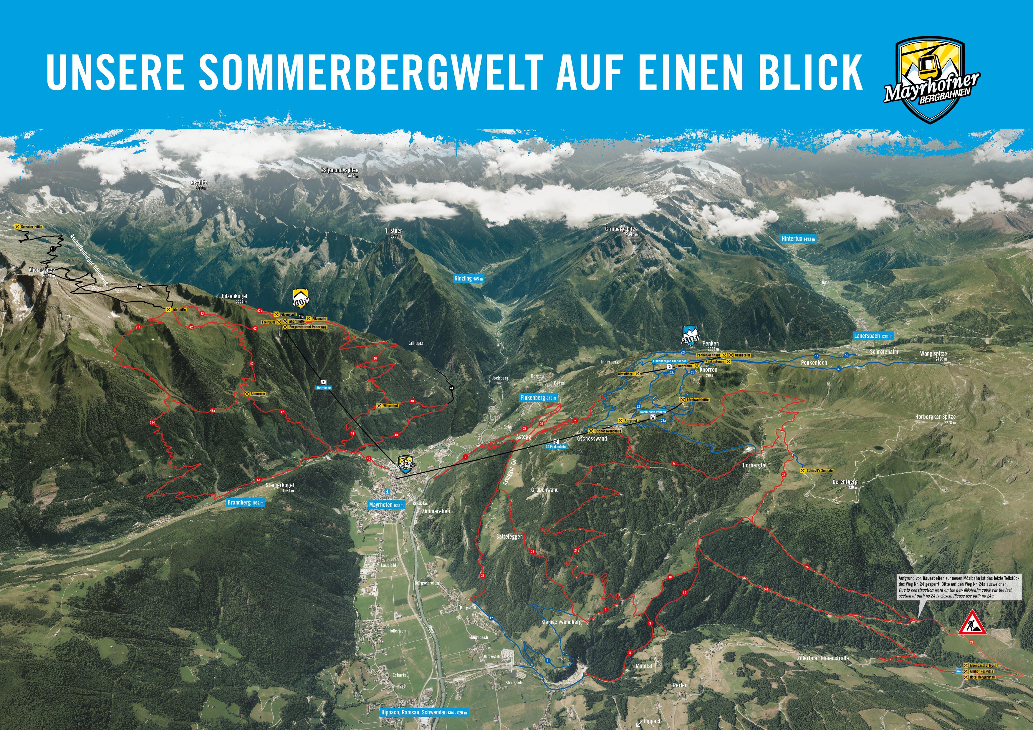 Zillertal Klettersteigset Leihen : Funsportstation mayrhofner bergbahnen